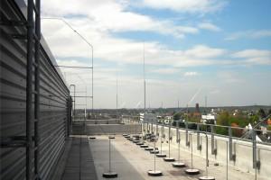 Blitzschutz Uniklinik Köln: Beispiel 1 (HVI-Blitzschutz)