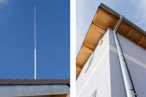 HVI-Blitzschutz am Firmengebäude + Privathaus 2