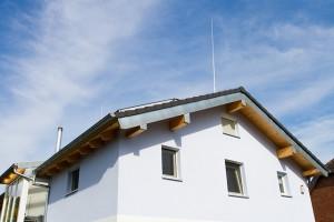 HVI-Blitzschutz am Firmengebäude + Privathaus 1